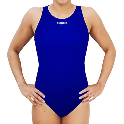 Diapolo COMFORT Wasserballanzug Badeanzug Schwimmanzug (M, Royalblau)
