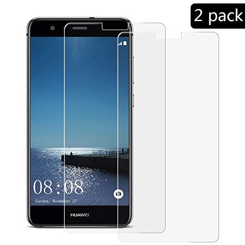 XCYYOO [2-Pack]para Huawei P10 Lite Protector de Pantalla, Cristal Vidrio Templado [Alta Definicion] [Cobertura Completa] Premium Protector Vidrio Templado para Huawei P10 Lite-Compatible 3D Touch