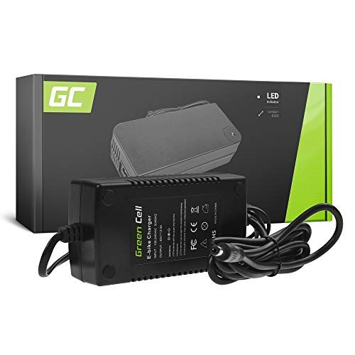 Green Cell® Ladegerät Netzteil (42V 2A) für Kettler Kreidler Kross Liberty Lovelec Merida Navigator NCM Prodigy 36V E-Bike Li-Ion Akku Batterie (5.5 * 2.1 mm Stecker)