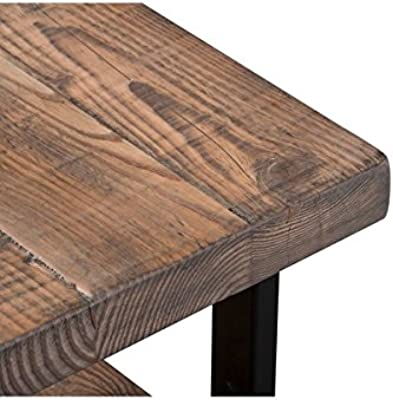 Amazon.com: 247shopathome idf-bn6254 storage-benches, roble ...