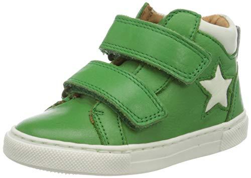 Bisgaard Unisex-Kinder Jacob Hohe Sneaker, Grün (Green 2002), 28 EU