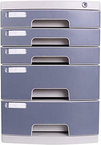 Archivado, archivador Archivo Organizador Organizador Multi-Capa Confidencial Amistoso Plastic Plasticos Durable Plásticos Etiqueta en blanco Unidad útil PP Caja de archivo de plástico (Color: B1, Tam