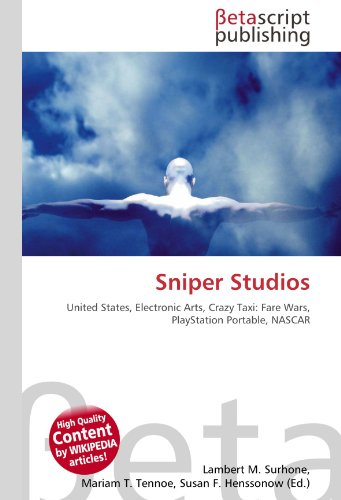Sniper Studios: United States, Electronic Arts, Crazy Taxi: Fare Wars, PlayStation Portable, NASCAR