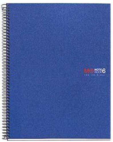 ミケルリウスリングノートA5方眼ベーシックブルー2829