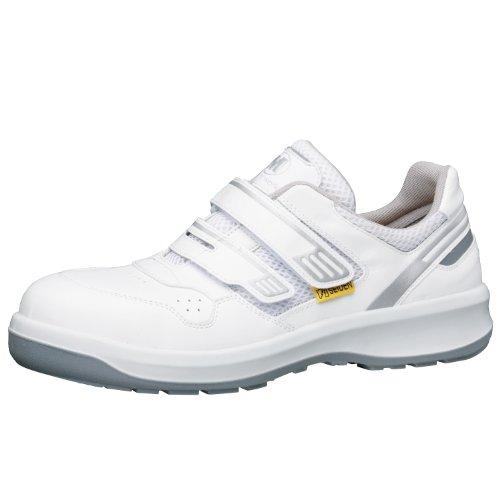 [ミドリ安全] 静電安全靴 グリーン購入法適合 マジックタイプ スニーカー G3695 静電 メンズ ホワイト 23.0(23cm)