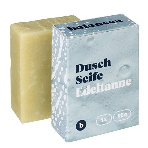BALANCEA Seife Edeltanne/Haarseife Naturseife Duschseife / 1er Pack (1 x 95 g)
