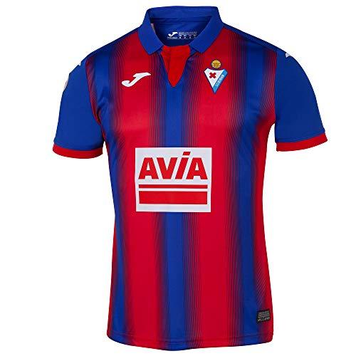 Joma 2019-2020 Eibar Home Football Soccer T-Shirt Camiseta