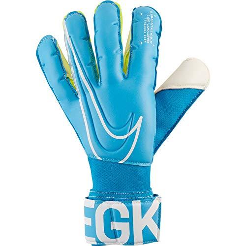 Nike Grip3 - Guantes de portero (10 unidades), color azul y blanco