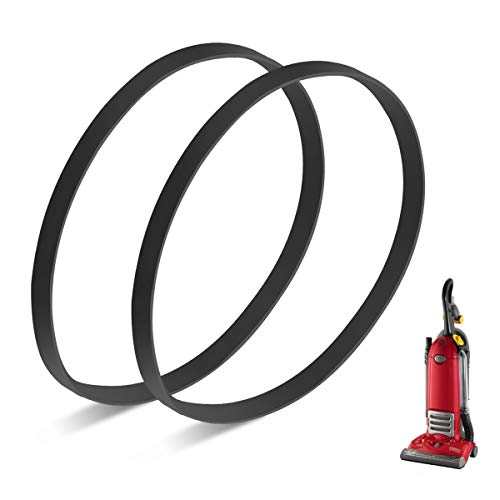 JEDELEOS Replacement Belts for Eureka 4870 Series Smart Vac Vacuum, Replace Parts 61110 / 61110C / 61110A (Pack of 2)