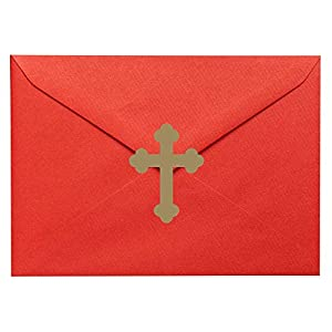 20 x Kreuz/Kruzifix-geformte Vinyl-Aufkleber. Zuhause, Kirche, Schule, Möbel, Fenster, Spiegel, Laptop, Autodekor…
