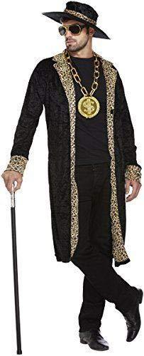 Disfraz Adulto CHULO Negro