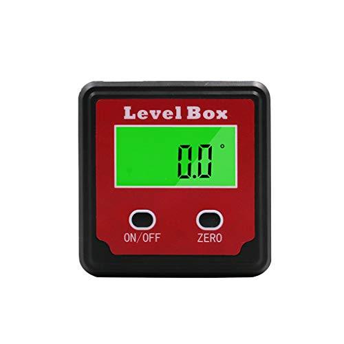 rongweiwang Elektronische Präzisions-Digital-Winkelmesser Inklinometer Ebene Box Digitale Ebene Digitale Winkelsucher Bevel Box