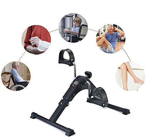 Thole Home Fitness Fahrrad LCD-Anzeige Indoor Cycling Stepper Faltbare Mini-verstellbare Rehabilitationsglieder Übungs-Fitnessgerät