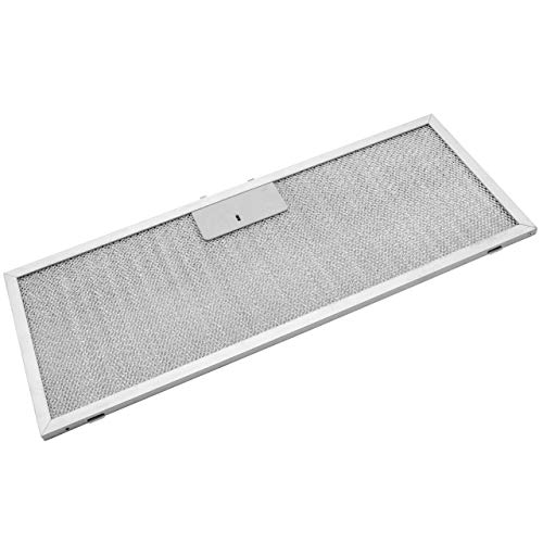 vhbw Filter Metallfettfilter, Dauerfilter 45,9 x 17,7 x 0,85 cm passend für Elica ELIB 92 K28 SL 3V2L 208018946602 Dunstabzugshaube Metall