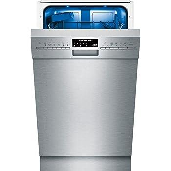 Siemens SR456S00PE Unterbaugeschirrspüler / A++ / 197 kWh/Jahr / 2380 L/jahr / Edelstahl / AquaStop / DuoPower-Doppelsprüharm