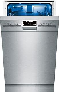 Siemens iQ500 SR456S00PE lavavajilla Semi-incorporado 9 cubiertos A++ - Lavavajillas (Semi-incorporado, Estrecho (45 cm), Plata, Plata, Botones, 1,75 m)