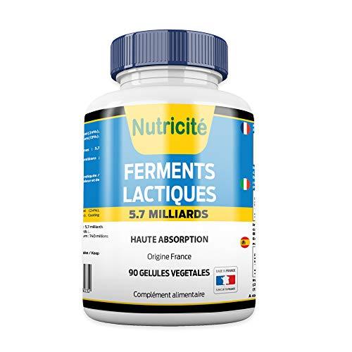 Probiotiques 90 Gélules - Regain d'énergie –...