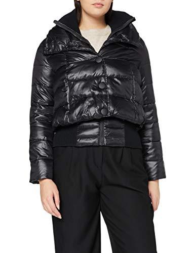 Sisley Jacket Giacca, Nero 100, 38 Donna