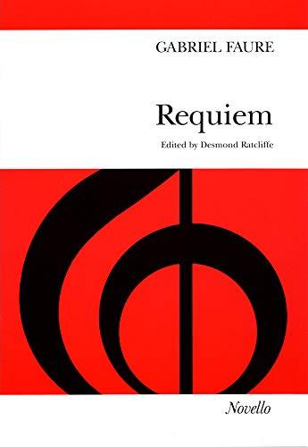 Price comparison product image Gabriel Faure: Requiem (SATB) Vocal Score
