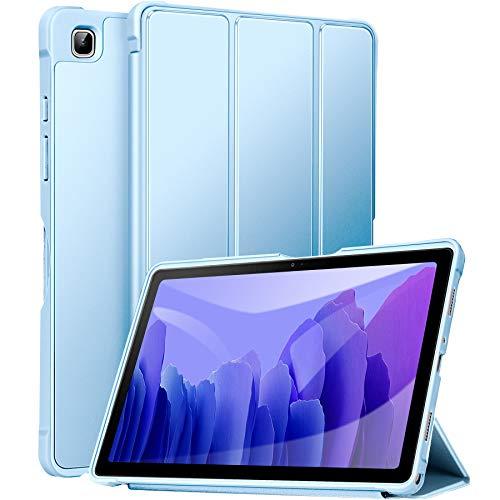 ZtotopCase Funda Tablet Samsung Tab A7 10.4 2020, Ultra Delgado y Ligero, con Función Atril para Funda Samsung Galaxy Tab A7 2020, Azul Claro