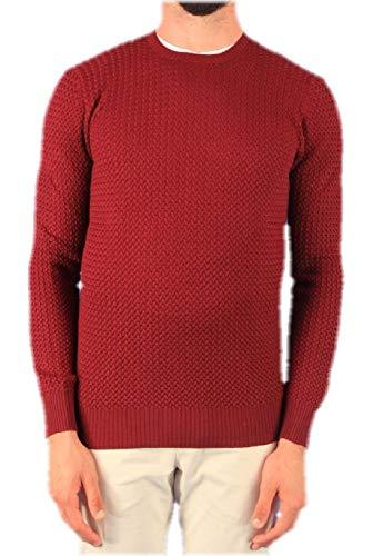 Luxury Fashion | Gran Sasso Heren 5713514280 Bordeaux Wol Truien | Herfst-winter 19