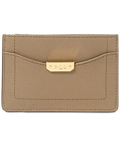 Lauren Ralph Lauren Dryden Mini Card Case Marrone Field Brown/Monarch Arancione taglia unica