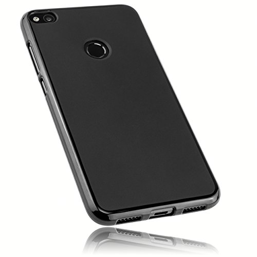 mumbi Hülle kompatibel mit Huawei P8 Lite 2017 Handy Hülle Handyhülle, schwarz