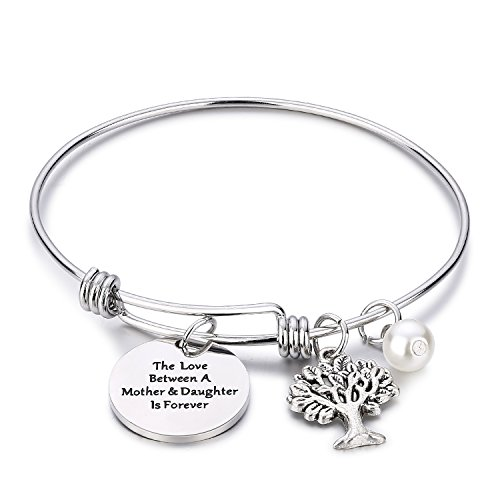 The Love Between Mother and Daughter is Forever Bracelet - Free Shipping