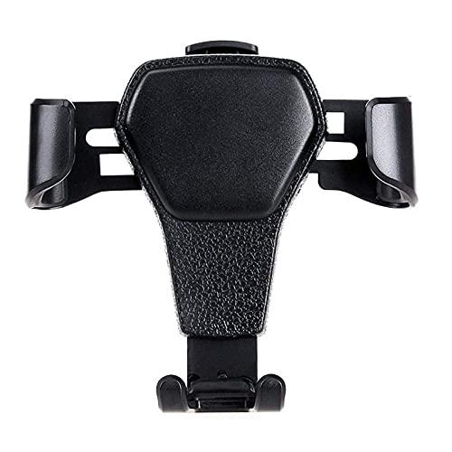 CSSDESIGN Soporte para teléfono de coche, soporte para teléfono en el coche de ventilación de aire de coche Soporte universal para iPhone negro