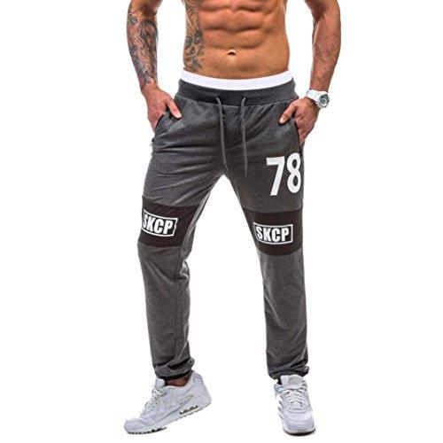 Pantalones de Deporte Hombre Pantalones de Chándal para Hombre...