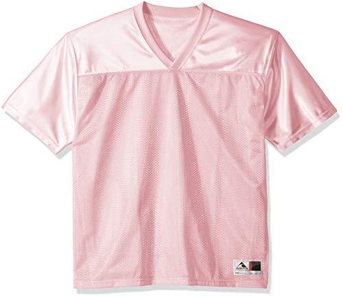 Augusta Sportswear unisex adult Augusta Stadium Replica Jersey, Light Pink, Medium US