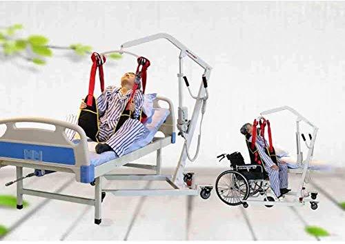 41dd s63pjL - TINWG Transferencia eléctrica portátil Equipo de Elevación Paciente, for Ancianos, discapacitados, no Enteros Parálisis Paciente utilice si el Cable de alimentación de 3 m 523