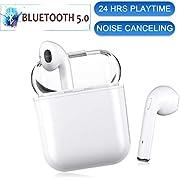 Bluetooth Kopfhörer In-Ear Ohrhörer Kabellose Ohrhörer Bluetooth 5.0 TWS mit HD Mikrofon und Mini Portable Ladebox Stereo Headset für Apple Airpods iOS Android Samsung Huawei