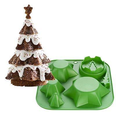 Christmas Tree Cake Mould - Create Multi-Layered 3D Christmas Tree Cakes