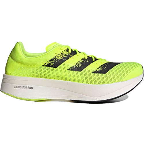 adidas Adizero Adios Pro, Zapatillas para Correr Hombre, Solar Yellow Core Black FTWR White, 38.5 EU