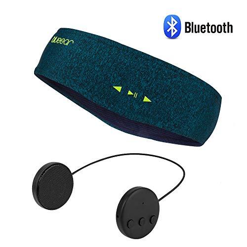 Bluetooth Musik Sport Stirnband Headband mit drahtlosem Kopfhörer 8 Stunden Musikspieler mit Einer Call-Funktion Geeignet für Sportarten