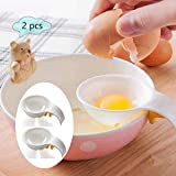 Separador de huevo, yema de huevo blanco, colador de huevo