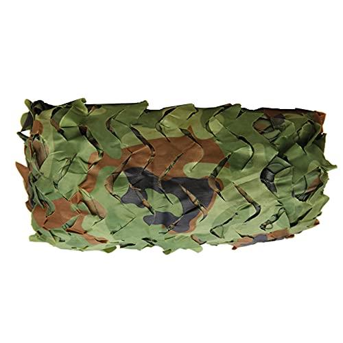 Camuflaje Red De Camuflaje, Rollo De Malla De Camuflaje, Malla De Camuflaje, Ejército Caza Militar Mallas De Protección, For Sunshade Decoration, Mountain Jungle Bird Watching(Size:1.5x7M/4.9x23ft)