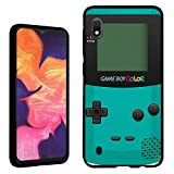 Galaxy A10e Case [Gameboy Mint](Black) PaletteShield Flexible Slim TPU Skin Phone Cover (fit Samsung Galaxy A10e)