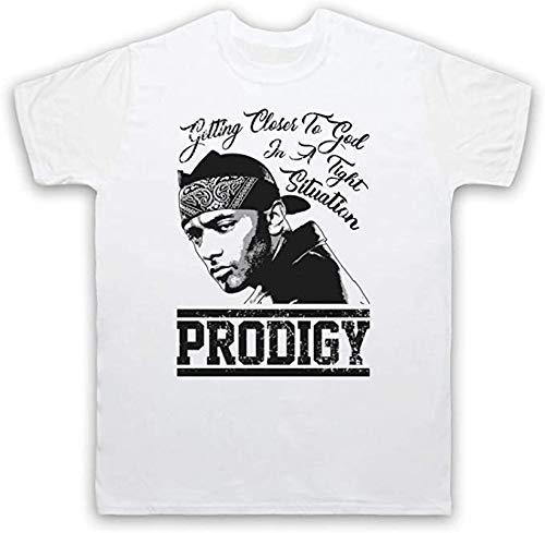 dingjie Mobb Deep Prodigy Shook Ones Part II T-Shirt(L)