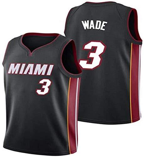 # 3 Jersey de Baloncesto de los Hombres Dwyane Wade Miami Heat...