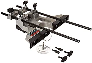 BOSCH Deluxe Router Edge Guide with Dust Extraction Hood & Vacuum Hose Adapter RA1054 , Black