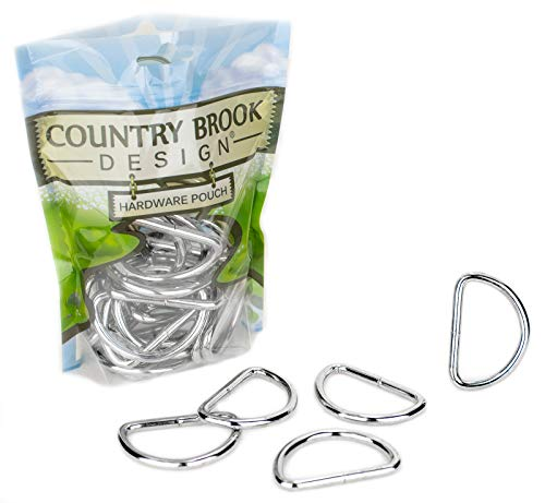 10 - Country Brook Design - 2 Inch Welded D-Rings