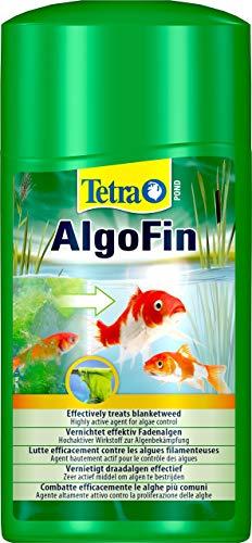 Tetra Pond AlgoFin Teich Algenvernichter - wirkt effektiv bei Fadenalgen, Schwebealgen und Schmieralgen im Gartenteich, 1 L