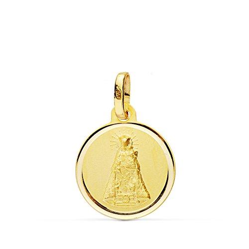 Medalla Virgen de los Desamparados 18 Ktes 14mm