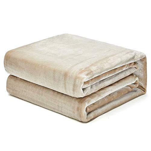 MAOTAN flanel fleece gooien dekens 180 * 230Cm(1.74Kg) - super zacht pluizig warm massief bed gooit voor bank microvezel deken/kleur