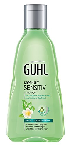 Guhl Kopfhaut Sensitiv Shampoo - 2er Pack (2x 250 ml) - mit weissem Tee und Wasserminze - milde Pflege - für sensible Kopfhaut