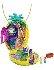Polly Pocket przenośna szkatułka na torebki z akcesoriami, zabawka dla dzieci od 4 lat