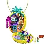 Polly Pocket GKJ64 Girls Dolls IP Brands Tropicool Pineapple Purse, Multicolor