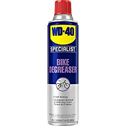 powerful WD-40 Specialist Bicycle Degreaser, 10 oz